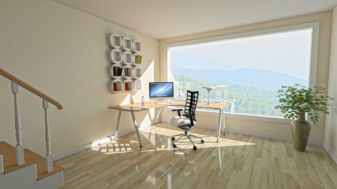 Werkkamer en thuiskantoor inspiratie